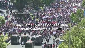 Chile: fourth week of demonstrations in Santiago